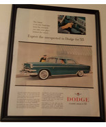 1955 Ad Dodge Royal V8 Sedan Features Flite Control - ORIGINAL ADVERTISING - $15.99