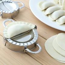 Stainless Steel Dumpling Maker Wraper Dough Cutter Dumpling Mould Kitche... - $188,51 MXN+
