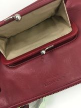 Coach Archival Wristlet 40207 Legacy Red Glove Leather Turnlock Clutch Bag B26 image 10