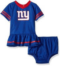 NFL New York Giants Infant Dazzle Dress & Panty Size 6 Month Youth Gerber - $23.93