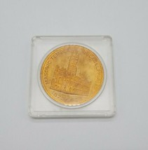 Masonic Temple Philadelphia PA 1873-1973 Coin Medal Freemason W Orville ... - $14.73