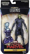 "Captain Marvel Marvel Legends Talos 6"" Action Figure BAF Kree Sentry - $23.26"
