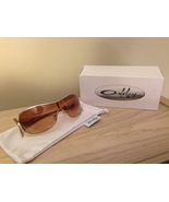 OAKLEY Liv Gold Sunglasses VR50 Brown Lenses w/ Box - $140.00