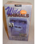 New Wild about Animals Sealed Lot of 4 VHS Volume 1 - 4 Marlette Hartley... - $11.78