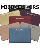 NWT MICHAEL KORS Medium Carryall Wallet And Card Case Holder Pouch 35F8G... - $44.55+