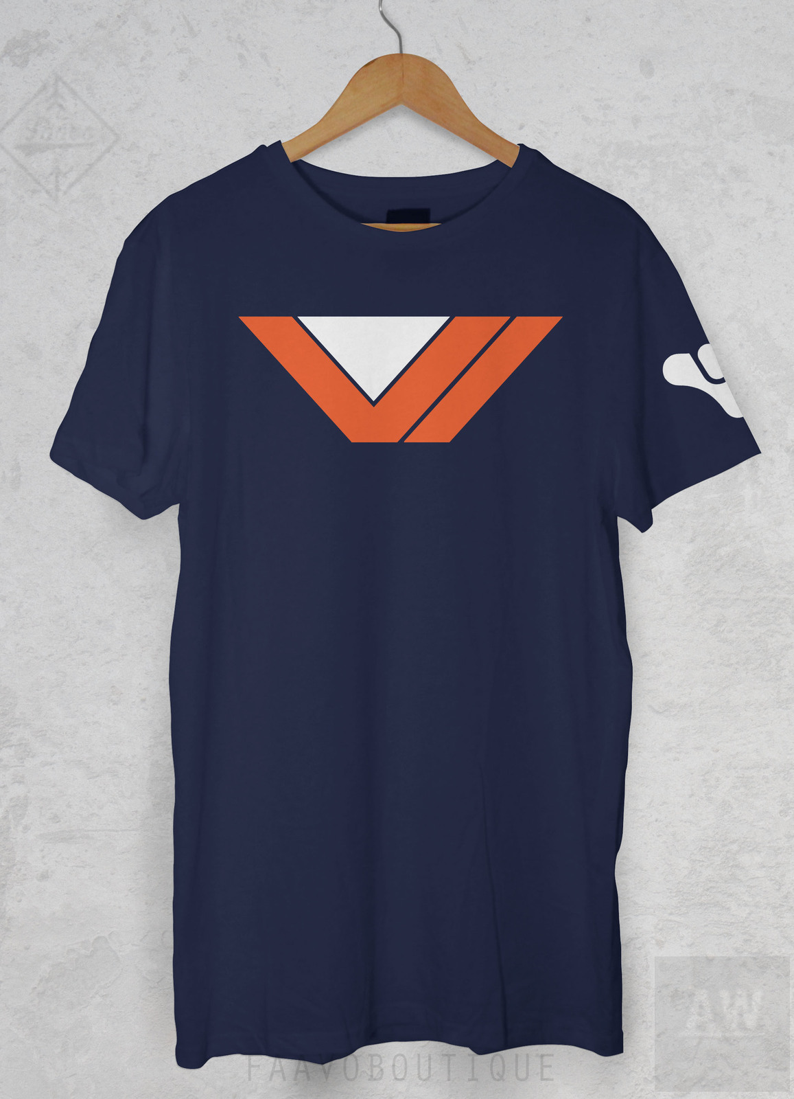 f6e03983fbe Destiny Vanguard Graphic Tee Unisex T Shirt and similar items. Vanguardbluew
