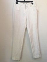 NWT $105 ROBERT RODRIGUEZ C22 White Pants Size 4 - $101.49