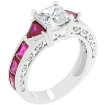 Ruby Red Regal Ring - $22.00