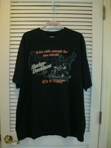 """Vtg Harley Davidson T Shirt 1998 """"If it's Wide Enough For Two Wheels It'... - $30.00"""