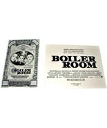 2 2000 BOILER ROOM Movie AD SLICKS Vin Diesel Advertising Promo Element ... - $9.99