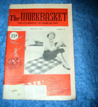 The Workbasket Home & Needlecraft Magazine, Sept. 1956 - $2.00