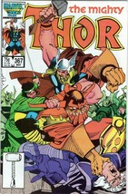 The Mighty Thor #367 Copper Age Collectible Comic Book Marvel Comics! - $3.19