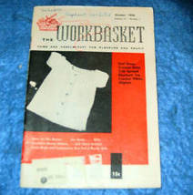 The Workbasket Home & Needlecraft Magazine, Oct. 1956 - $2.00