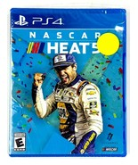 NASCAR Heats 5 PlayStation 4 PS4 NEW FACTORY SEALED  - $25.73