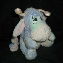 "8"" DISNEY PASTEL BABY BUTTERFLY EEYORE WINNIE THE POOH STUFFED ANIMAL PL... - $18.70"