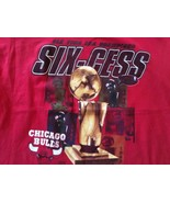 CHICAGO BULLS SIX-CESS SUCCESS 6x NBA CHAMPIONS XLARGE XL 6 peat - $28.49