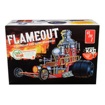 Skill 2 Model Kit Flameout Show Rod Revival Car 1/25 Scale Model by AMT ... - $38.27