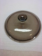 Corning Visions Amber V 2.5 C Replacement Round  Lid Pyrex - $17.96