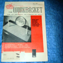 The Workbasket Home & Needlecraft Magazine, July 1957 - $2.00