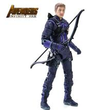 7'' Marvel Hawkeye in Avengers 3 Infinity War PVC Action Figure collecti... - $14.88