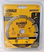"Dewalt DW4741 5"" x .250 XP Segmented Rim Diamond Tuck Point Blade 7/8"" A... - $17.82"