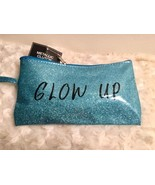 Ladies Blue Shimmer Wristlet Coin Purse Beauty Bag Gift Glow Up Free Shi... - $5.93