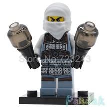 Single Sale Movie Ninjago Ash the Tournament of Elements Minifigures Block Toy - $3.25