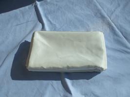 White Satin Fabric For Wedding / Graduation Large 23 Feet Piece Home Decor - $34.63
