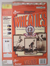 Empty WHEATIES Box 1996 12oz THE NEGRO LEAGUES 75th Commemorative Year [... - $5.41