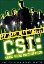 CSI CRIME SCENE INVESTIGATION Complete First 1st SEASON 1 Series DVD Set... - $28.70