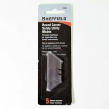 Sheffield Round Corner Safety Utility Blades 5-Pack - $8.77