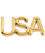 14K Gold USA Lapel Pin in choice of 14K Yellow or White Gold - $149.99