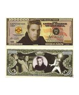 2 - Elvis The King 1 Million Dollars Bill Note - free shipping - $5.99