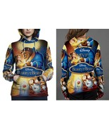 beauty and the beast 1991 movie image Hoodie Fullprint Women - $41.80+