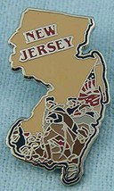 NEW JERSEY Collectible Pin - Willabee & Ward - Collect all States you Visit - $12.38