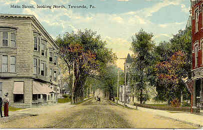 Primary image for Daily Review Publishing Office Towanda Bradford County Pennsylvania Post Card