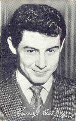 Primary image for Eddie Fisher Arcade Card photograph
