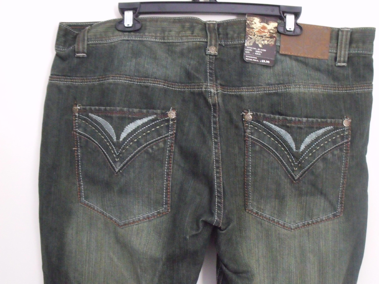 Men's Jeans 42 x 32 Levi's Loose Straight Fit Dark Wash % Cotton. Email to friends Share on Facebook - opens in a new window or tab Share on Twitter - opens in a new window or tab Share on Pinterest - opens in a new window or tab | Add to watch list. Seller information. alth .