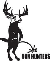 HUNTING DECAL #HT1/27 PEE ON NON HUNTERS HUNT DEER ELK MOOSE  SHHOT GUN ... - $10.00