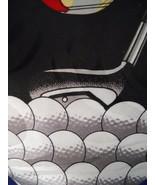 Fratello Golf Club Balls Novelty Mens Necktie Sport Tie Golfing Black - $3.50