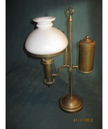 Antique Brass Student Lamp Small Size - $330.00