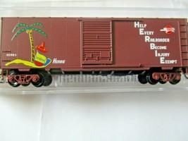 Micro-Trains # 07300260 Missouri Pacific 40' Standard Box Car Single Door (N) image 1