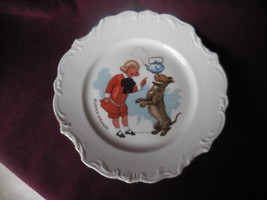 Buster Brown and Tige Antique Porcelain Plate ca. 1910 - $27.72
