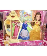 Disney Princess Belle Wardrobe Style Set 2 Outfits - $29.99