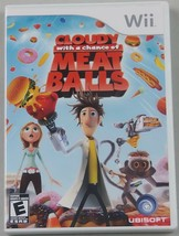 Cloudy avec Chance Of Meatballs (Nintendo Wii, 2009) - $10.87