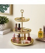 1 Piece Storage Tray For Jewelry Makeup Dessert Food Shelf Holder Table ... - £29.79 GBP+