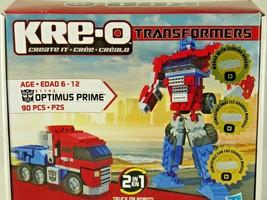 Kre-o Optimus Prime Transformers Robot Truck 90Pce 31143 English French ... - $28.95