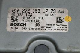 Mercedes R350 W251 Ecu Ecm Engine Control Module W/ Ignition Switch & Fob image 5