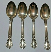 """Gorham Chantilly Sterling Silver Teaspoon No Mono Approx 5 3/4"""" Lot of Four - $93.29"""