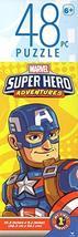 Marvel  Super Hero Adventures - 48 Pieces Jigsaw Puzzle v2 - $4.46